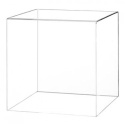 Capot cube plexiglas - 45 CM