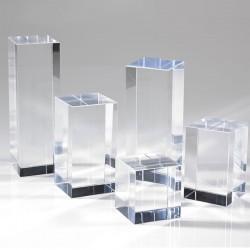 Socle cube et platine en...