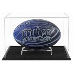 Vitrine pour ballon de rugby