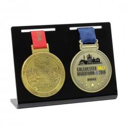 Présentoir pour 2 médailles