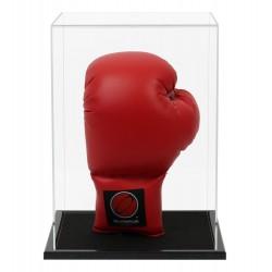 Vitrine bois gant de boxe