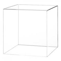 Capot cube plexiglas - 10 CM